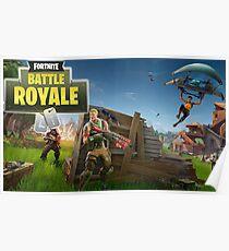 Fortnite battle royal Poster