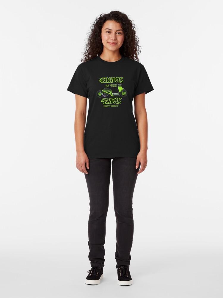 Alternate view of Shift Shirts Knuck If You Ruck – Ruckus Inspired Classic T-Shirt
