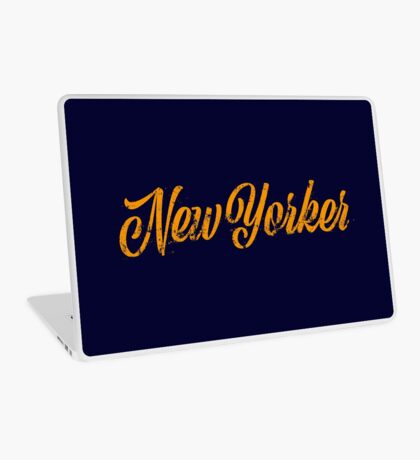 Used New Yorker Hand Lettering Laptop Skin