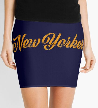 Used New Yorker Hand Lettering Mini Skirt