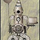 Birthday Robot by WinonaCookie