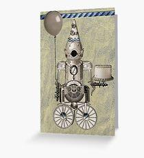 Birthday Robot Greeting Card