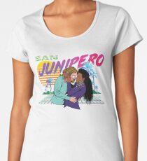 San Junipero Women's Premium T-Shirt