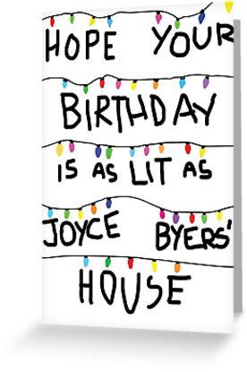 «Tarjeta de cumpleaños encendida (compre # 2 no esta)» de k-stuff