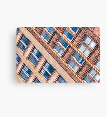 Blocks - Asheville, North Carolina Architecture Canvas Print