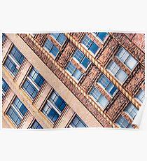 Blocks - Asheville, North Carolina Architecture Poster