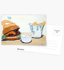 The Westport Burger Postcards
