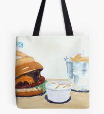 The Westport Burger Tote Bag