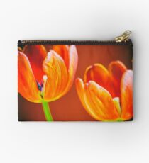 Tulips in Orange Studio Pouch