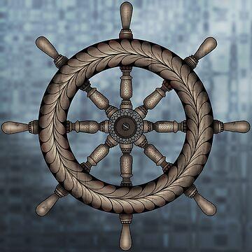 Ship Wheel by MagicMama