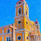 Crosses & Towers - Granada, Nicaragua by Mark Tisdale