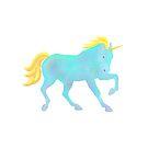 Blue Unicorn by artlilly