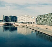 ALONG THE SPREE / Berlin, Germany by Daniel Coulmann