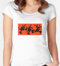 DANCE ROOOOOTEEN Women's Fitted Scoop T-Shirt