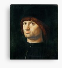 Portrait of a Man Antonello da Messina Canvas Print