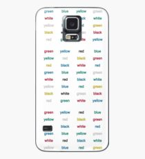 Stroop Effekt Hülle & Skin für Samsung Galaxy