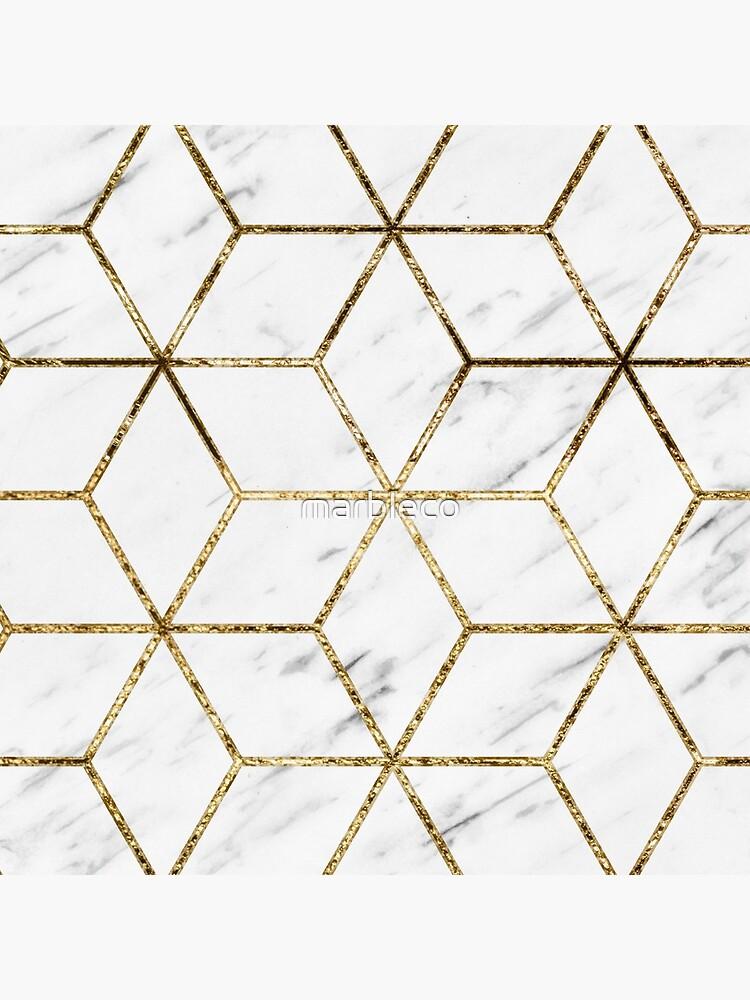 Gatsby goldener Marmor von marbleco
