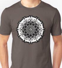 Camiseta unisex Mizzledala - mandala de gato