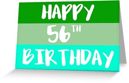 Happy 56th Birthday By FTML