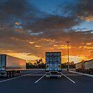 Trailer Park Sun Rise by robcaddy