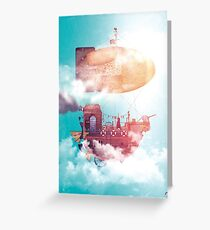 Steamship Greeting Card