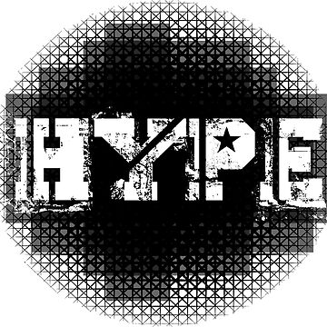 HYPE Graphic Design by vickylewisphoto