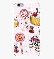 Rockabilly Cupcakes and Candy iPhone Case