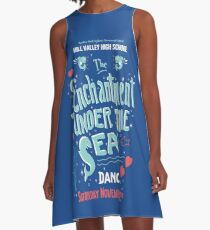 Back To The Future - Hill Valley High School - Enchantment under the Sea A-Line Dress