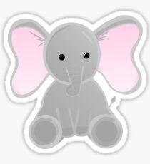 Elephant - Cute Baby Elephant Sticker