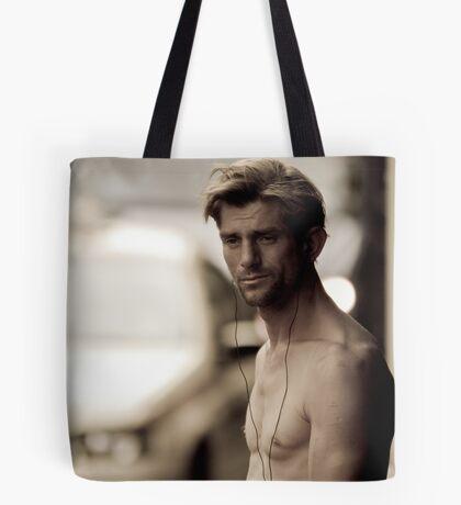 Walk-man Tote Bag