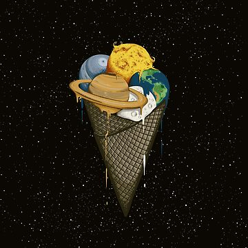 Galactic Ice Cream by RobertRichter