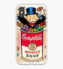 Monopoly Money Soup iPhone Case