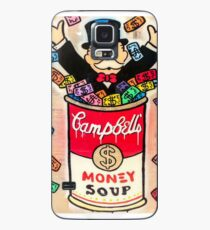 Monopoly Money Soup Case/Skin for Samsung Galaxy