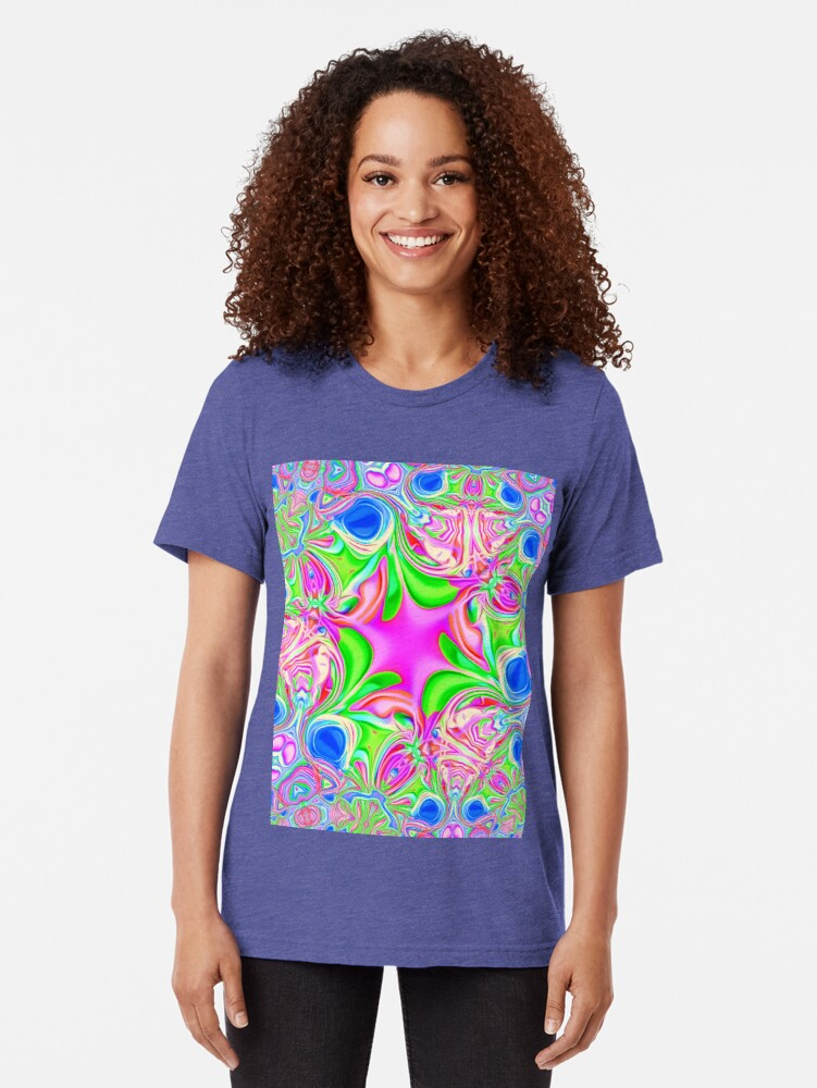 Alternate view of Colors, funky, funky! Tri-blend T-Shirt