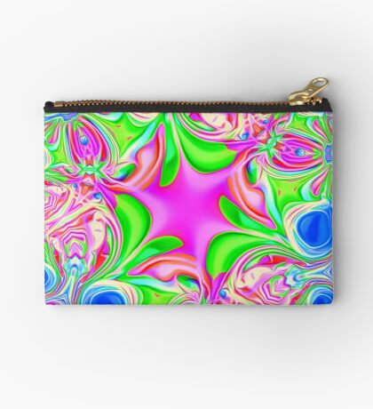 Colors, funky, funky! Zipper Pouch