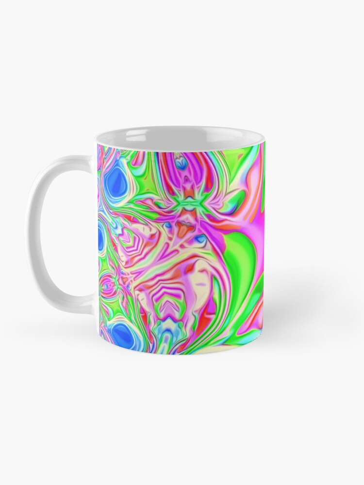 Alternate view of Colors, funky, funky! Mug
