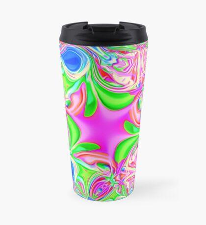 Colors, funky, funky! Travel Mug