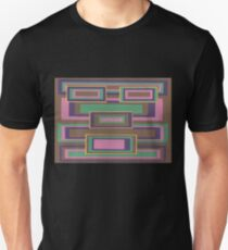 I Hit Big (Facemadics abstract face colorful contemporary) Slim Fit T-Shirt