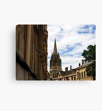 University church St Mary The Virgin, Oxford, England Canvas Print