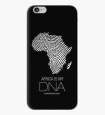 Africa is my DNA (black) iPhone Case