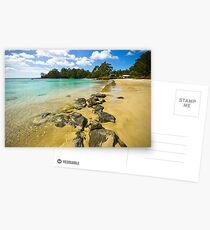 Catamaran Rocks Postcards