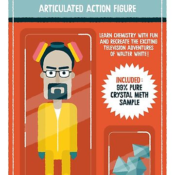 Heisenberg action figure by alexlaunay
