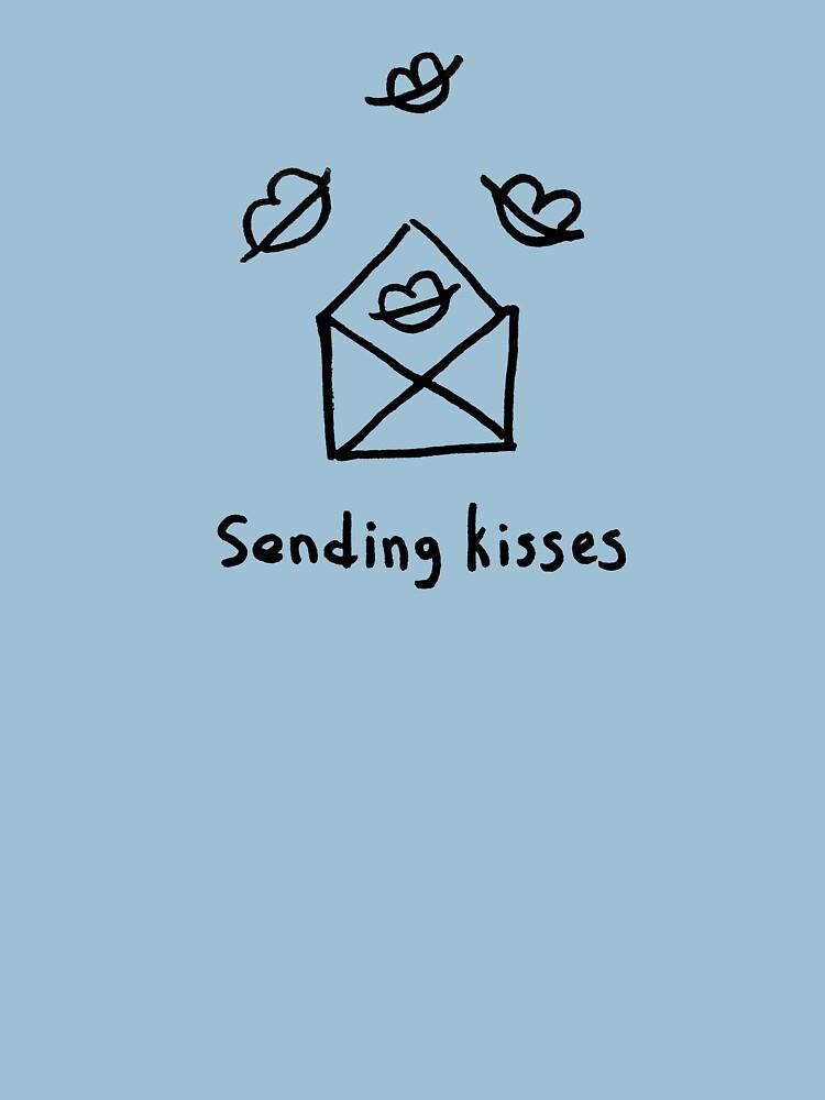 Sending kisses by syrykh
