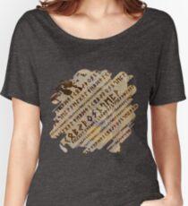 Runic alphabet pattern Women's Relaxed Fit T-Shirt