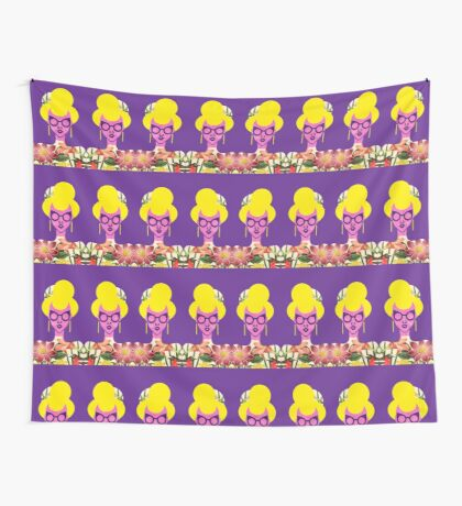 Fashion Girl Wall Tapestry