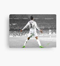 Cristiano Ronaldo 7 Metal Print