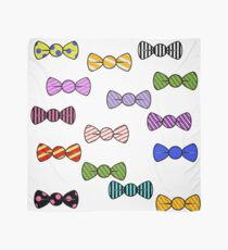 Bow Ties Patterns Graphic Art Scarf