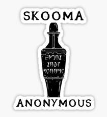 Skooma Anonymous Sticker