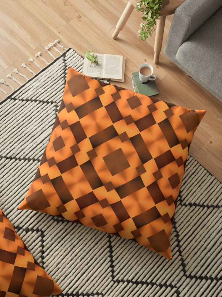 Pattern in Warm Tones by Lyle Hatch