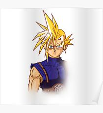 Cloud Strife AT Poster
